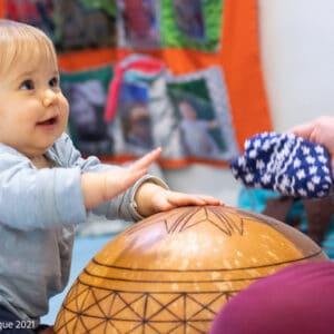 bébé percussion